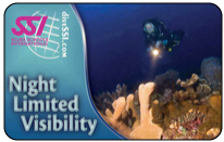 SSI tečaj specialnosti: Nočno potapljanje / Omejena vidljivost