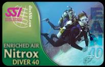 SSI tečaj specialnosti: Potapljanje z obogatenim zrakom (Nitrox)