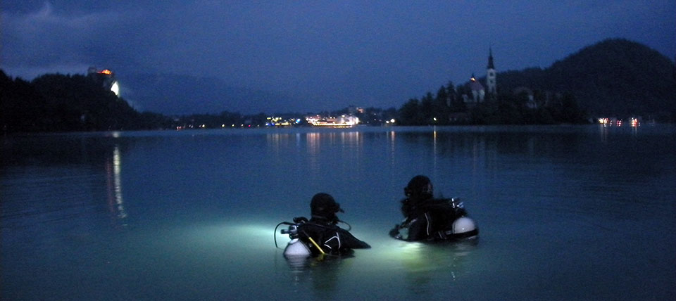 Nočni potop Bled